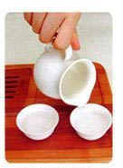 Instructions for making oolong gongfu tea step 1
