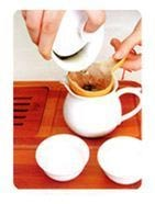 Instruction for making oolong gongfu cha step 9