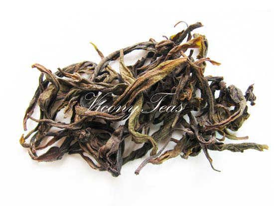Bai Ji Guan Rock Oolong Dried Tealeaves