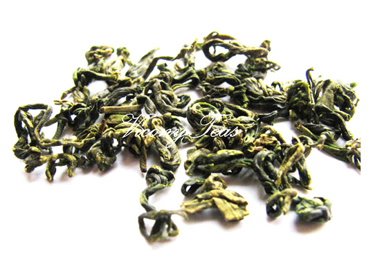 Premium loose leaf tunlu green tea