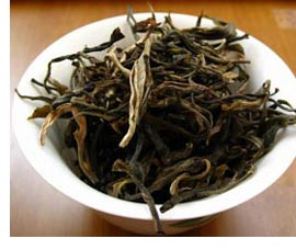 loose leaf yunnan pu-erh tea